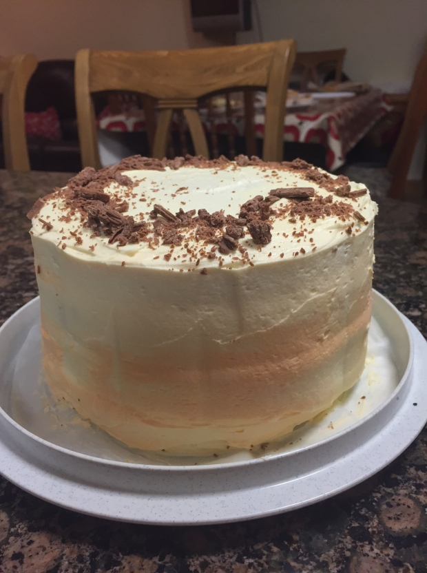 Tangy Four Layer Chocolate Orange Cake